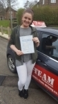 LORNA passed with L Team Driving School
