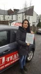 RESVAN  passed with L Team Driving School