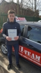 LUKE passed with L Team Driving School