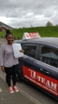 JAKI  passed with L Team Driving School