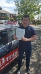 KEV passed with L Team Driving School