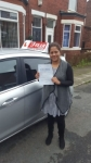 AISHA passed with L Team Driving School