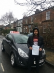 CHRISTIAN passed with L Team Driving School