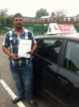 sherya passed with L Team Driving School