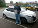 Abdul Kareem passed with L Team Driving School