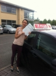 daniele passed with L Team Driving School
