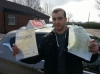 baz passed with L Team Driving School
