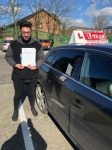 WAQAS passed with L Team Driving School