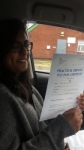 URVASHI passed with L Team Driving School