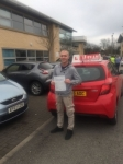 SHAUN passed with L Team Driving School