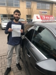 ZAIN passed with L Team Driving School