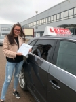 NAOMI passed with L Team Driving School