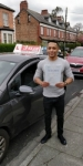 ADRIAN passed with L Team Driving School