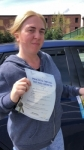 KELLY passed with L Team Driving School
