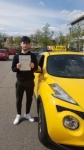 MICHAEL passed with L Team Driving School