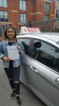 MIRIAM passed with L Team Driving School