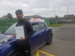 GILMAN passed with L Team Driving School