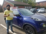 CHARAN passed with L Team Driving School