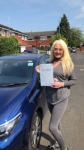 AUTUM WELLS passed with L Team Driving School