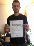 ROBERT passed with L Team Driving School
