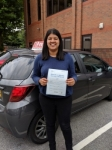 VARUNA passed with L Team Driving School