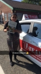 SHABANA passed with L Team Driving School