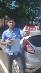 MATEEN passed with L Team Driving School