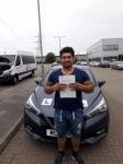 JORDAN passed with L Team Driving School