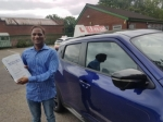 SATHYA passed with L Team Driving School