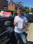WESLEY passed with L Team Driving School