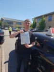 BILLY passed with L Team Driving School