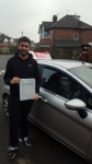 Harris passed with L Team Driving School