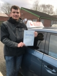 DEMYTRO passed with L Team Driving School