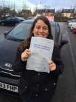 FRANCES  passed with L Team Driving School
