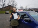 DANIELLE passed with L Team Driving School