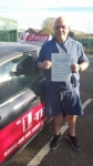 Terry passed with L Team Driving School