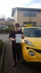 JAMES  passed with L Team Driving School