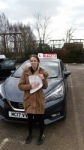 AMY  passed with L Team Driving School