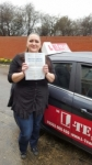 Martina Cervenkova passed with L Team Driving School