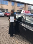 HAIQARIZA passed with L Team Driving School