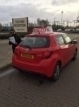 MANSOOR passed with L Team Driving School