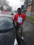 ARUN passed with L Team Driving School