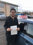 FARHAN passed with L Team Driving School