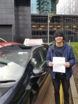 HASHMI passed with L Team Driving School