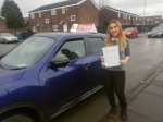 JENNIFER passed with L Team Driving School