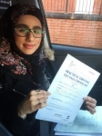 QURRATULAYN passed with L Team Driving School