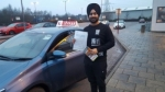AJIT  passed with L Team Driving School
