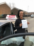 JESSICA passed with L Team Driving School
