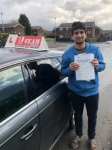 SHAHROZ passed with L Team Driving School