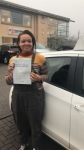 KATIE passed with L Team Driving School